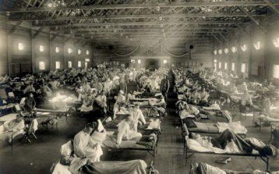 Die Spanische Grippe 1918, die eigentlich aus den USA kam…