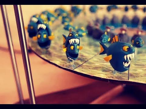 Echtzeit-Stopmotion: Fische essen Fische