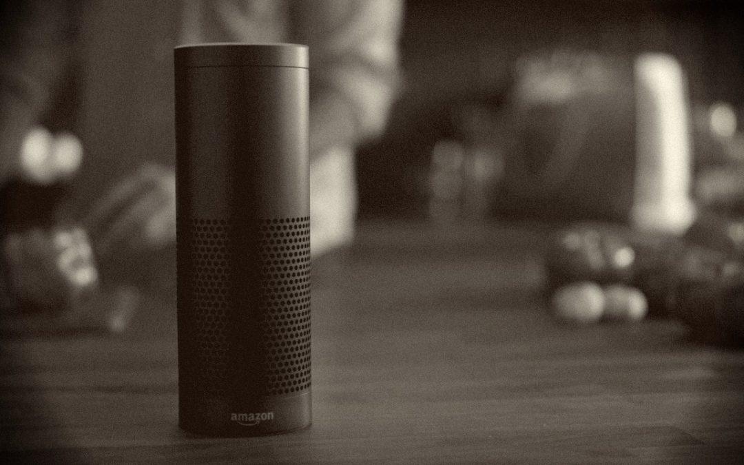 Amazon's Alexa allein zu Haus