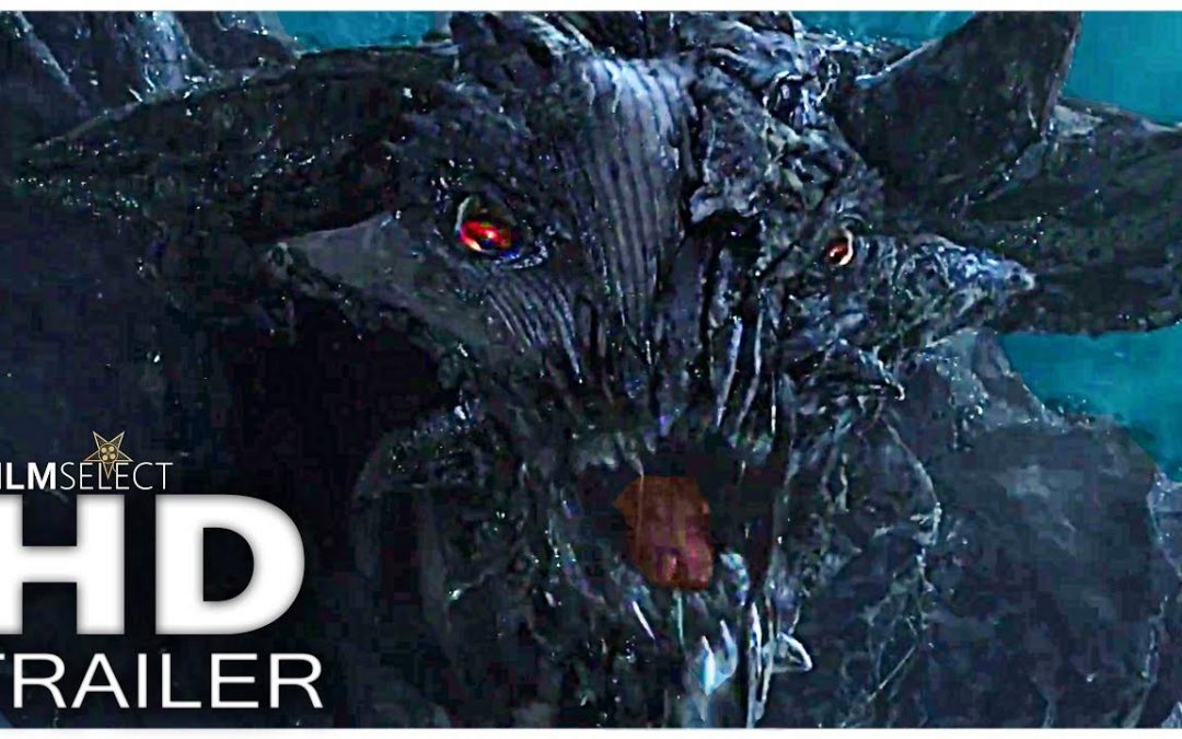 A bunch of trailers: Pacific Rim: Uprising #2, The Ritual, I Kill Giants, God of War