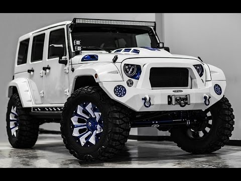 Jeep Wrangler – Stormtrooper edition