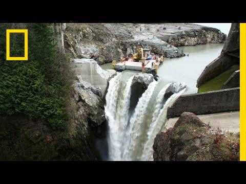 Größter Staudamm-Abriss in der Geschichte der USA