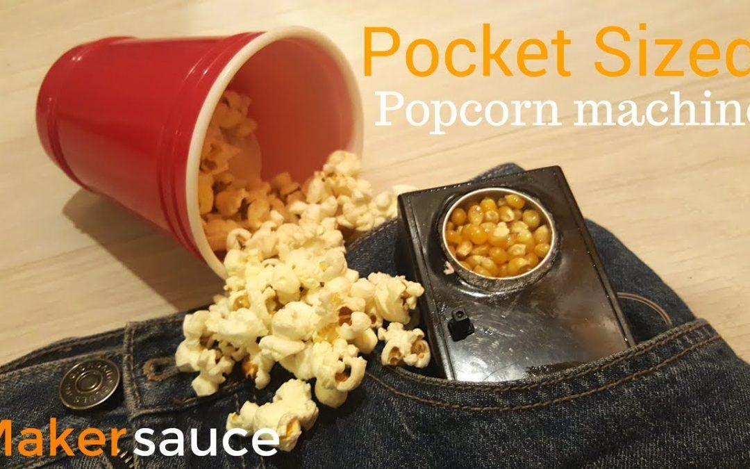 Popcorn Maschine für die Hosentasche