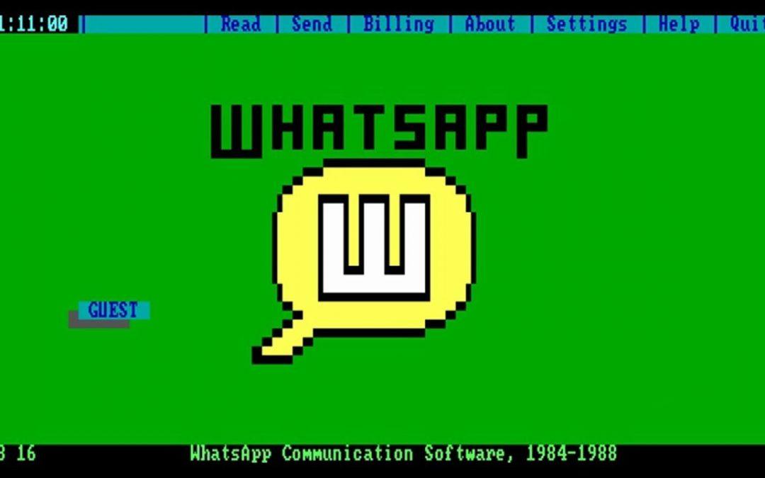 Wenn es WhatsApp schon in den 80ern gegeben hätte…